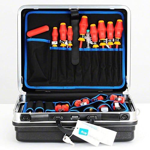 KNIPEX Werkzeugkoffer Basic bestückt Lehrlingskoffer 00 21 05 HLS