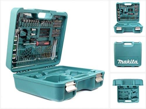 Makita Werkzeug Koffer mit 101 tlg. Zubehör für BHP / BDF 343 446 452 453 456 459, BTD 129 134 136 146 147