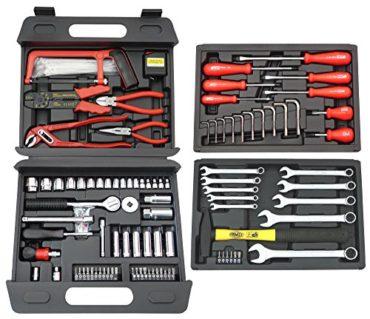 Famex Universal Werkzeugkoffer 163-teilig 253-70 im Test [9/10]