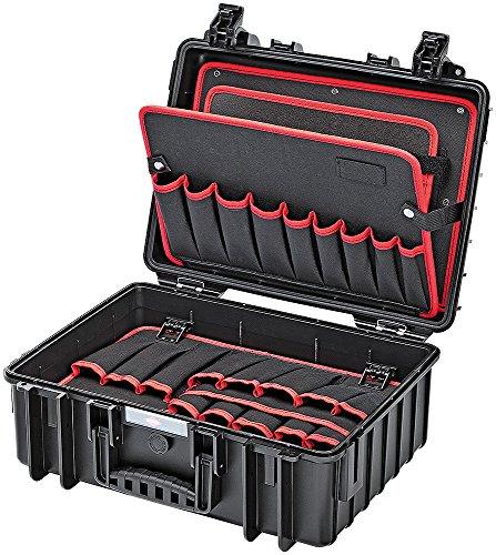 KNIPEX 00 21 35 LE Werkzeugkoffer Robust leer