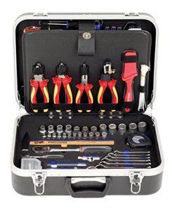 Projahn Elektro Werkzeugkoffer Anwendungsbereiche 128-teilig 8683