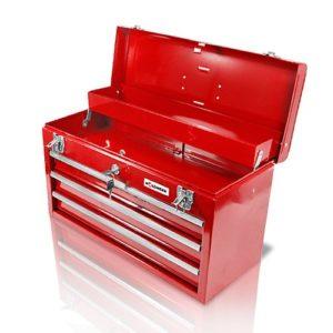Holzinger Werkzeugkoffer HWZK500-3 - kugelgelagert (3 Schubladen + 1 Fach)