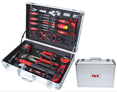 P&K Alu Werkzeugkoffer Werkzeugset Werkzeugkasten Werkzeug Werkzeugkiste