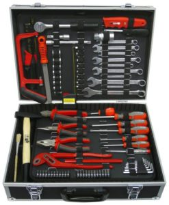 Famex 759-65 Werkzeugkoffer mit Werkzeugbestückung 125-teilig
