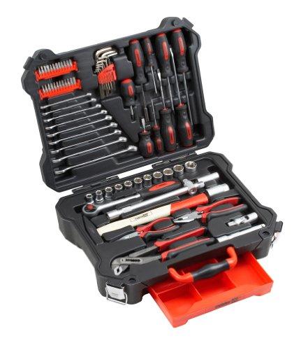 Meister 8973550 Montage-Werkzeugkoffer 72-teilig