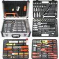 Famex 719-50 Mechaniker-Werkzeugkoffer-Komplettset mit Steckschlüsselsatz 207-teilig