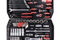 Werkzeug Set Kfz 122 Teilig YT-3890 im Werkzeugkoffer Test [9,2/10]