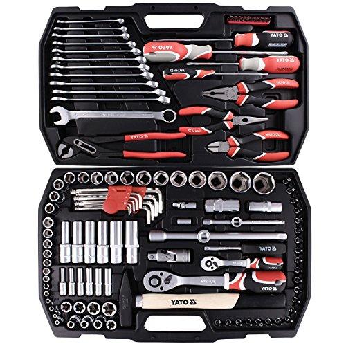 Werkzeug Set Kfz 122 Teilig YT-3890