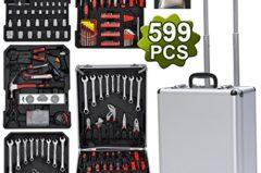 Yahee 599-teiligen Universal Werkzeugkoffer im Test 8,9/10