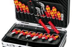 KNIPEX 00 21 20 Werkzeugkoffer Elektro 20-teilig im Test [9,4/10]