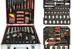 Werkzeugkoffer Trolley mit über 200 Teilen im Test 8,5/10