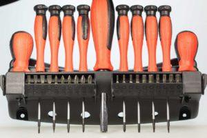 Werkzeugkoffer bestückt Schraubenzieher Set